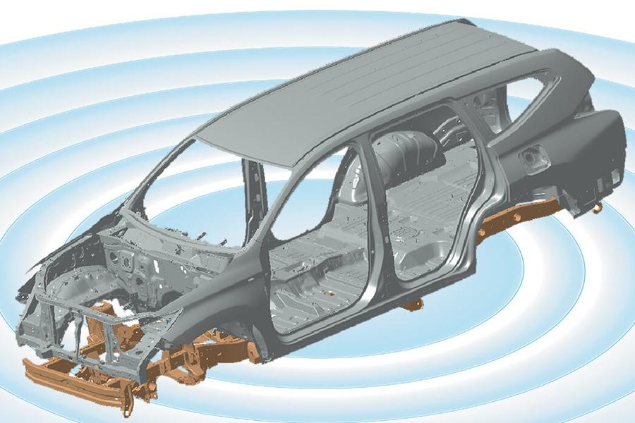 An toàn Mitsubishi Pajero Sport - Hình 5