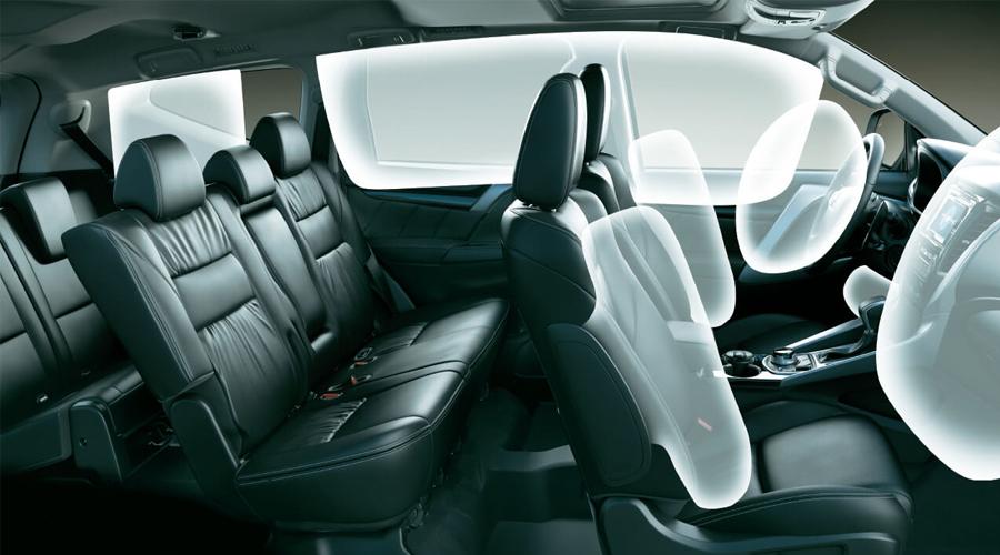 An toàn Mitsubishi Pajero Sport - Hình 7